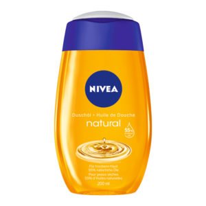 Nivea natural shower oil